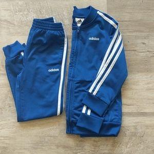 Adidas jogger and jacket set